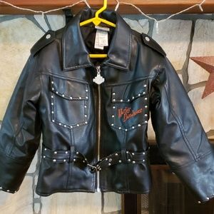 Kids Harley Davidson Leather Jacket